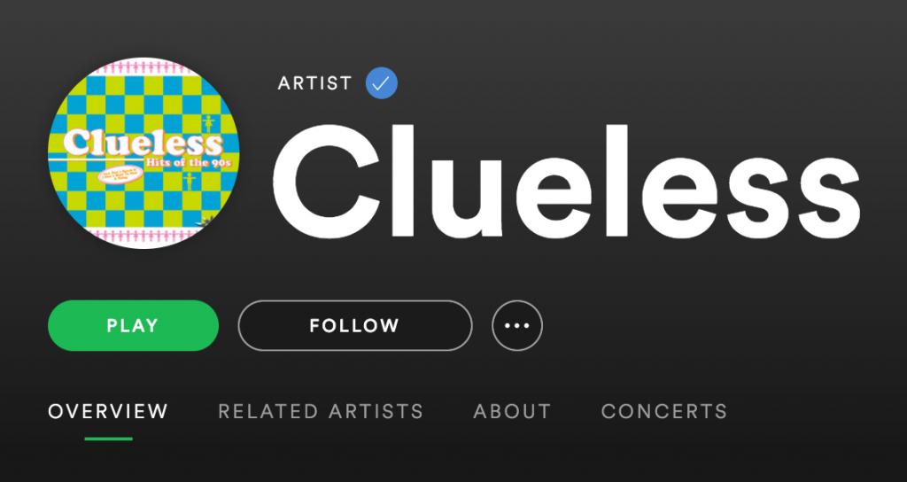 Min musikk @ Spotify