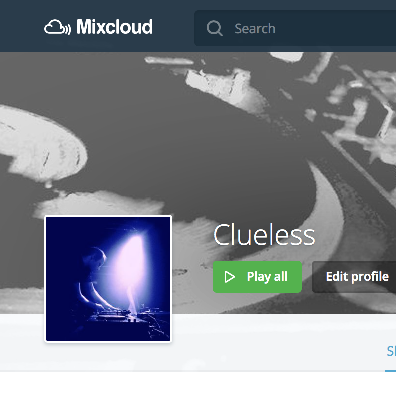 Clueless @ Mixcloud